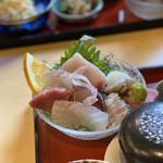 酒奏 Sinmi - 料理写真:ランチ 刺身