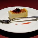 マジックレストラン・バー GIOIA - チーズケーキ
