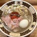 ラーメン凪 - 『煮干ラーメン卵入り』様(910円)