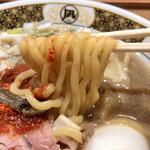 ラーメン凪 - この麺も旨いんだけど〜
