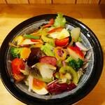 124486868 - 野菜ラーメン(半ラーメン)