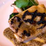 レストランITOSHIMA - 「チキンのグリル(粒マスタードソース)」はとても柔らかく美味しかった。