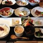 紅さんざし - ランチメニュー・お魚&お肉 ¥2.000-
