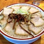 田中そば店 - 肉そば大盛(1,120円)