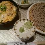 八兆屋  - 料理写真:親子丼とおそばの膳(880円)
