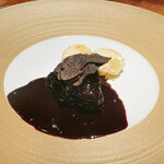 蒼 - 見蘭牛ほほ肉の赤ワイン煮込み
