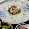 Kakiden - 料理写真:穴子うす造り