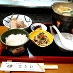 ときわ寿司 - 【期間限定】お昼の鍋定食(2020年3月31日まで)税込1000円