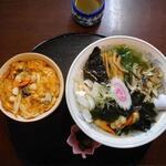 志のざき - いそらーめん+ミニ貝柱丼1300円