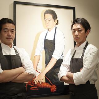 世界的なデザイナーの専属料理人となったオーナーシェフ中山豊光