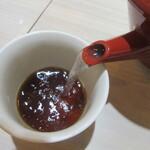 吉祥寺 越後屋 - 蕎麦湯は自然体
