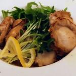 124505212 - 贅沢ホタテと牡蠣のバターソテー