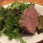 ワイン食堂 ヴィンセント - 熟成お肉の田舎風パテ
