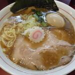 麺一盃 - あっさり系らーめん正油魚介+味玉