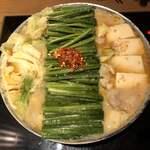 博多もつ鍋おおやま - もつ鍋 味噌味