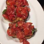 カサレッチョ - トマトのカナッペ