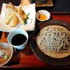 橅の杜 - 料理写真:天ざる蕎麦