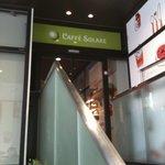 カフェ ソラーレ - お店の外観