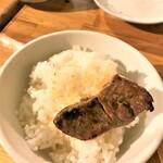 124522017 - 200127月 北海道 成吉思汗だるま4・4店 ご飯は最後にとっておく