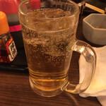 やきとり○金 - チューハイに梅酒をプラス