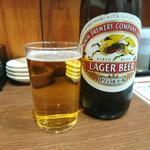 中華酒家 心 - 瓶ビール