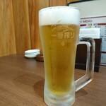 中華酒家 心 - 生ビール