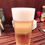 ワイン食堂 イタダキヤ - 生ビール