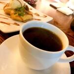 カフェ ラ・ボエム - 【コーヒーとアップルパイ】