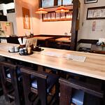 大塚や - 店内の雰囲気(テーブル)