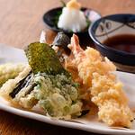 大塚や - 天ぷら盛り合せ