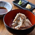 大塚や - 伝統料理 そばがき(そばの実のせ)