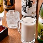 大塚や - 蕎麦焼酎 濃厚そば湯切りと日本酒 各種