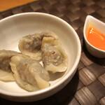 TETSU流 - 自家製ラム肉の水餃子