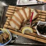 網元料理 徳造丸 - 「あわび漁師煮」3,500円