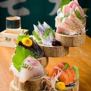 鮮度抜群!新鮮魚介使用の海鮮料理
