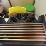 上野たいやき - 韓国の焼き台