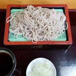 江戸千 - 料理写真:もりそば(600円)