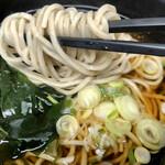新田毎 - 麺はふがふがだけど、朝ごはんにはちょうどいい。