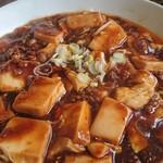 町中華たかはし - 麻婆豆腐