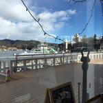 アンカーコーヒー - 席からの眺めです