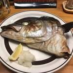 蔵元居酒屋 清龍 - 鯛のカブト焼き