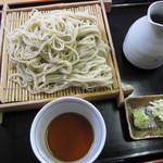 そば処 三里 - 料理写真:『大盛りそば ¥750』