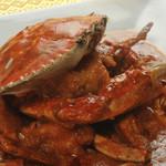 アジアン バンブーン - 渡り蟹のチリソース炒め