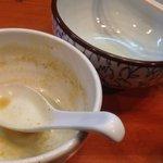 麺屋 高橋 - 完食