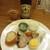 二代目 佐平次 - 料理写真:サッポロ赤星とお通し(850円)