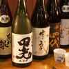 うま安 - ドリンク写真:日本酒集合