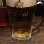 IBUKI -つけめんDINING- - エビス生ビール