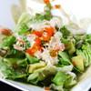 鉄板焼 梵'S - 料理写真:蟹とアボカドのサラダ ~カニ味噌ソース~