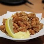 海鮮遊食 Rin - 何かの魚の皮の唐揚げ・・・何だったっけ??