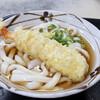 手打ちうどん 山下 - 料理写真:天ぷらうどん(かけうどん+えび天)